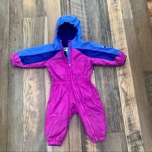 Columbia Tectonite Winter full body coat girl 2T